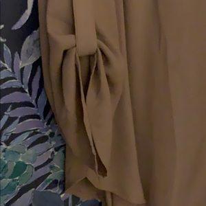 Lush Tops - Mauve chiffon tunic from Nordstrom